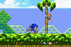 Sonic Flash Games