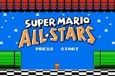 Super Mario All Stars NES