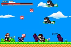 SUPER MARIO CROSSOVER 2 >> Play the flash game Super Mario