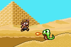 Mario World Buried Treasure